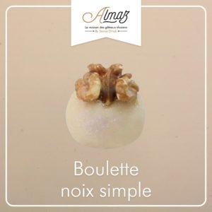 14C – Boulette noix simple